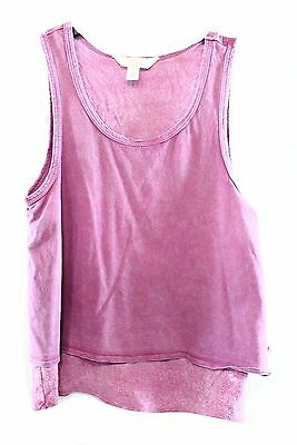 Sun & Shadow NEW Purple Girl's Size Small S Scoop-Neck Sleeveless Top- DEAL