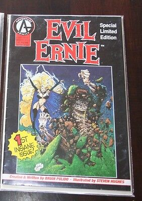 Evil Ernie Straight to Hell 1-5 Ashcan Wizard Prologue 3 Chastity Variant more!