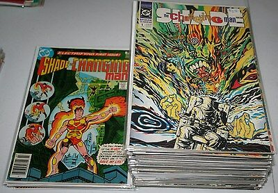 Shade the Changing Man vol 1 1-8 volk 2 1-66 lot of 61 Classic Series!