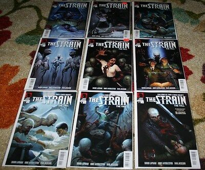 The Strain The Fall 1-9 Complete Set Nm First Prints Smash Hit Tv Show On Fx