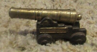 Vintage Fort Ticonderoga, N.Y.  Cannon Cast Iron & Brass