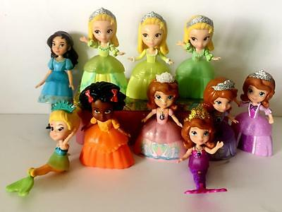 Lot of 10 Disney Princess Sophia The First Royal Family Figures