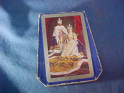 1910 KING GEORGE V + Queen Alexandria CORONATION PLAYING CARDS in Orig BOX