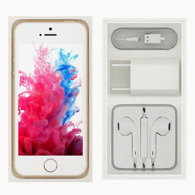(NEW SEALED BOX) APPLE iPHONE 5S 4S 16GB 32GB 64GB FACTORY UNLOCKED +12MTH WTY #