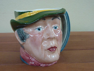 "Vintage Hand Painted Staffordshire Toby Jug ""SAM WELLER""  -- Made in England"