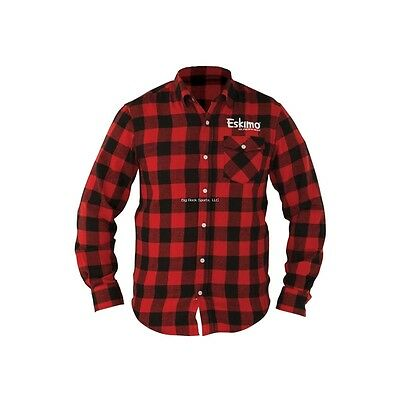NEW Eskimo Auger Buffalo Plaid Ice Fishing Shirt XL 23813