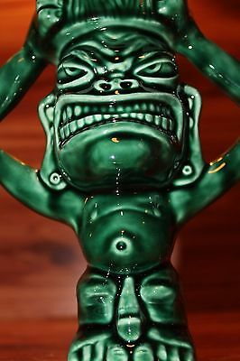 RARE Squid Design~HEADHUNTER Tiki Candle Holder/Tea Light Ceramic Art tiki  mug