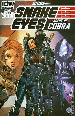 GI Joe Snake Eyes Agent of Cobra (2014 IDW) #4SUB VF