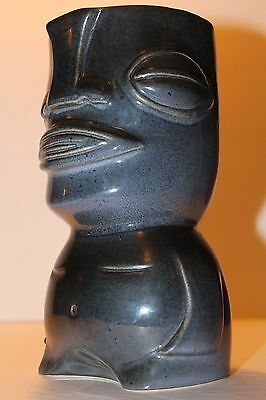 2010 Munktiki~AKAMAI KUMU Tiki Mug (#1 of 100) Ceramic Modern Art Midnight Blue