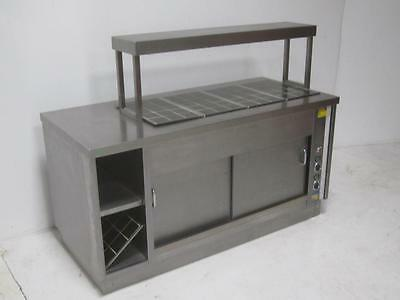 CED Carvery Unit Hot Plate Bain Marie Lights Stainless Catering Equipment