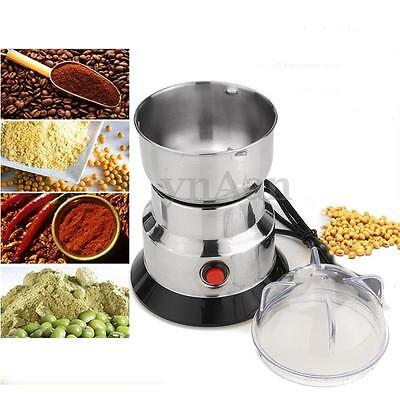 Electric Herbs/Spices/Nuts/Grains/Coffee Bean Grinder Mill Grinding Pulverizer