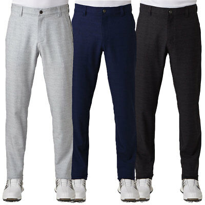 Adidas Golf 2017 Mens Ultimate Prime Heather Pant Stretch Trousers