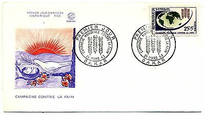 Senegal 1963 Freedom from Hunger first day cover