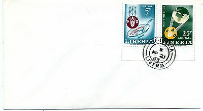 Liberia 1963 Freedom from Hunger first day cover