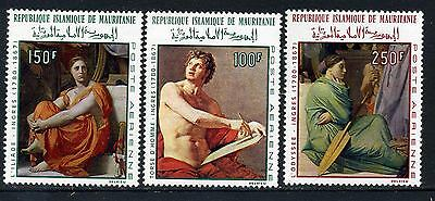 1968 Mauritania Paintings by Ingres  (MNH)