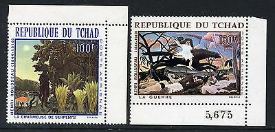 1968 Chad Rousseau Paintings   (MNH)
