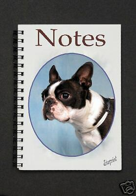 Boston Terrier  Notebook / Notepad By Starprint - Auto combined postage