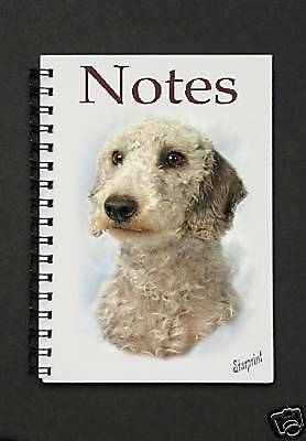 Bedlington Terrier Notebook / Notepad By Starprint - Auto combined postage