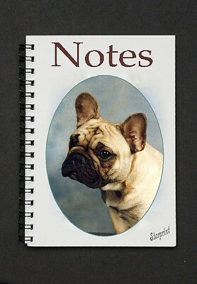French Bulldog Notebook / Notepad  By Starprint