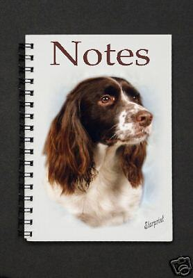 English Springer Spaniel Notebook/ Notepad By Starprint - Auto combined postage