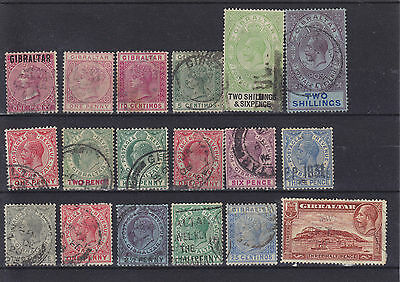 Gibraltar QV - KGV Used Collection