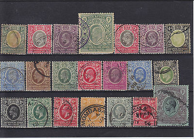 British KUT KEVII - KGV Used Collection