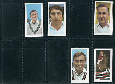 "Barratt 1971 ""famous Sportsmen"" Golf Cricket Boxing - Pick Your Card"
