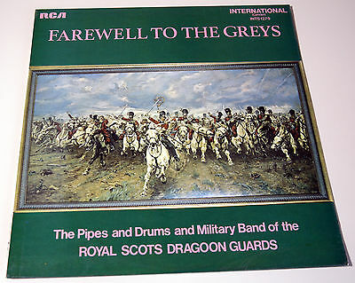 Farewell To The Greys Royal Scots Dragoon Guards 1971 Vinyl Lp Record