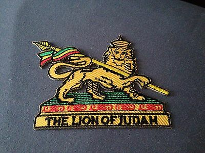 The Lion Of Judah Patch