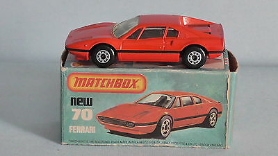 Original Matchbox Superfast Ferrari No.70 In Box