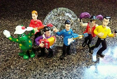 The Wiggles PVC Figures Dolls Cake Toppers Set of 6 Captain Dorothy Greg & more