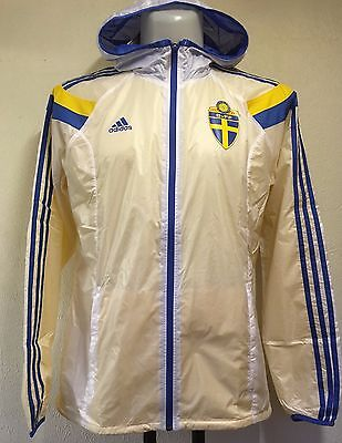 Sweden Anthem Track Top By Adidas Adults Size Small Brand New With Tags