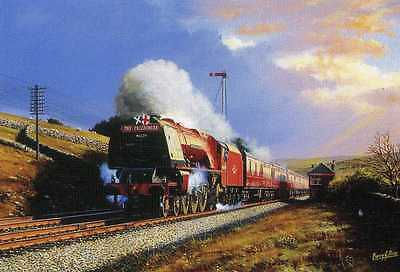 Duchess Of Hamilton--The Caledonian Lms Railway Print By Barry Price
