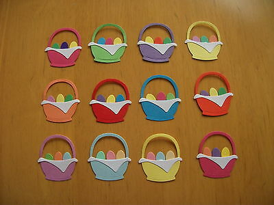 12 Quickutz Easter Basket Die Cuts - Ready Assembled