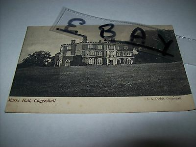 marks hall coggeshall essex rare early p/c