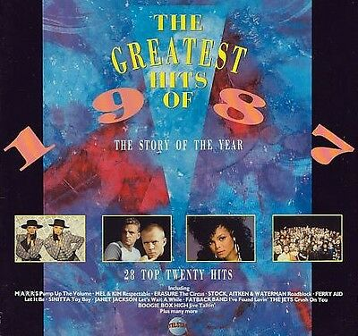 (Vinyl Lp) The Greatest Hits Of 1987/various Artists > 2 Lp Set