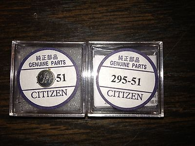 New Genuine Citizen Watch Cell - Capacitor 295-51 : Looks ++