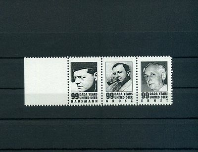 G3O DADA Raoul Hausmann George Grosz Max Ernst Artistamps Poster Stamp