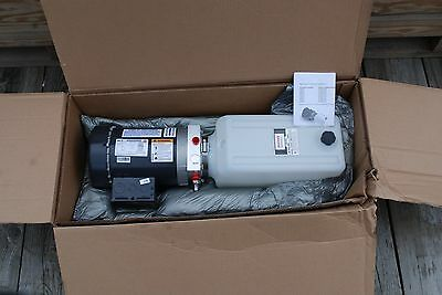 Bucher Hydraulics Monarch M-4504-0163 Hydraulic Power Unit 1Hp 230/460 3Ph New