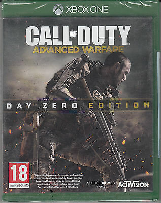 Call of Duty Advanced Warfare Day Zero Edition Xbox One Brand New Factory Sealed