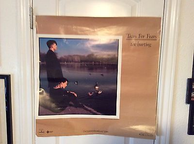 """TEARS FOR FEARS: The Hurting, Promo Poster, 23"""" x 23"""""""