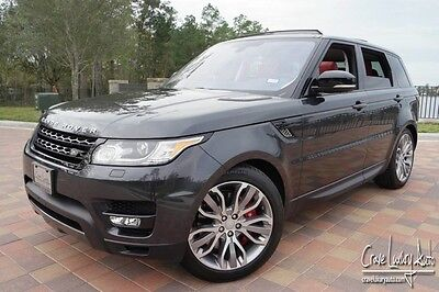 2016 Land Rover Range Rover Sport  Range Rover Sport supercharged loaded leather Crave Luxury Auto 281-651-2101