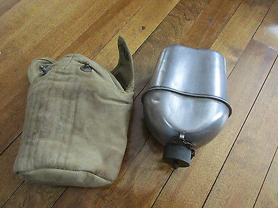 1943 US Canteen & Cover Stainless (t)