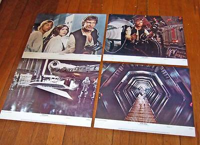 1977 Star Wars lobby cards~complete set of 8