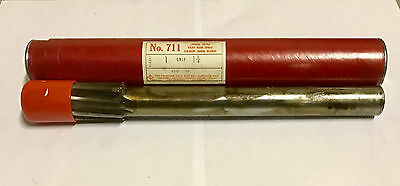 "Cleveland Twist 1-1/4"" Chucking Reamer 1.2500 Carbide Tipped Spiral Flute USA"