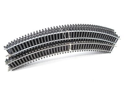 HORNBY  16 x R605 1ST RADIUS DOUBLE CURVED SECTIONS