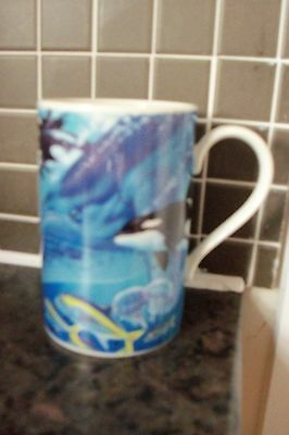 Stunning Collectable Dunoon Stoneware Oceania Mug Designed By Tim Knepp