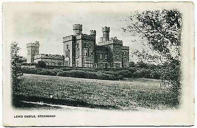 Early Postcard . Lewis Castle . Stornoway . Isle Of Lewis . Scotland