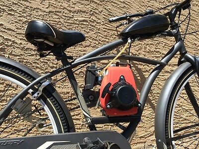 Center Mounted Chain Drive Bicycle Motor Kit Gas Motorized Electric Bike Engine