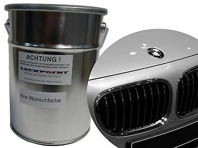 1 Litre Basecoat Spray Finish BMW A83 Glacier silver Metallic Tuning Car paint